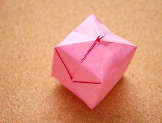 3 Ways to Fold an Origami Cube - wikiHow