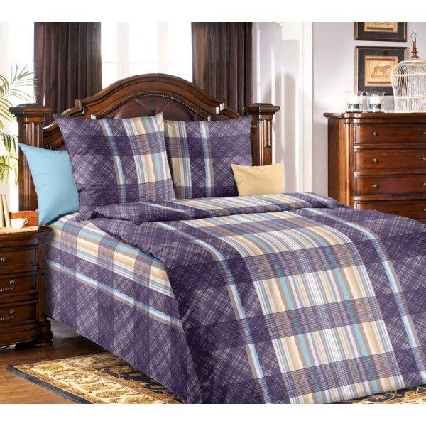 1,5-спальные комплекты Вертикаль (синий)