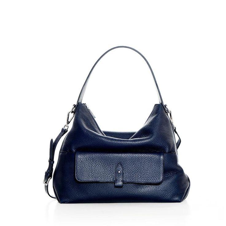 DECADENT 237 Big shoulder bag with pocket Navy