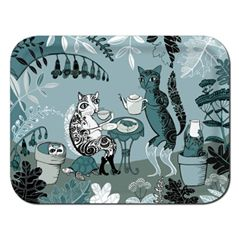 Cats Tray, 43 x 33 cm