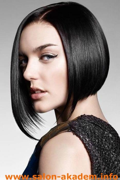 Асимметричное каре без челки на прямые волосы #Фото  http://www.salon-akadem.info/asimmetrichnoe-kare-bez-chelki-na-pryamye-volosy.php