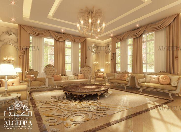 Majlis design arabic majlis interior design algedra for Luxury classic interior design