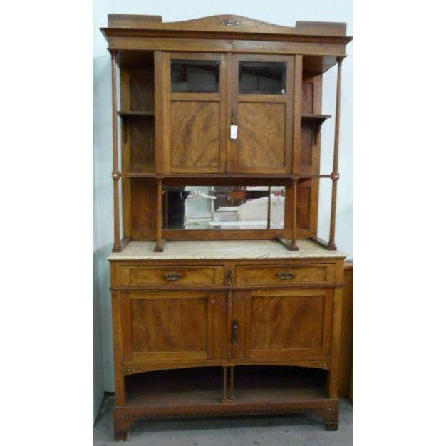 Las 25 mejores ideas sobre aparador antiguo en pinterest - Muebles antiguos pintados ...