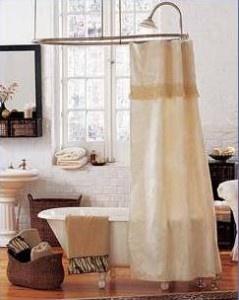 Claw Foot Tub Shower Curtain