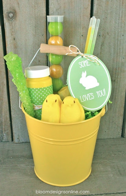 Some Bunny Loves You Buckets @ Bloom Designs