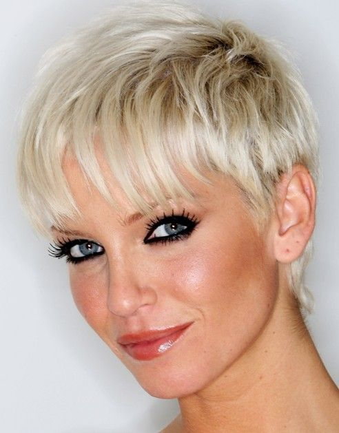 Layered Pixie Hairstyles For Thin Hair