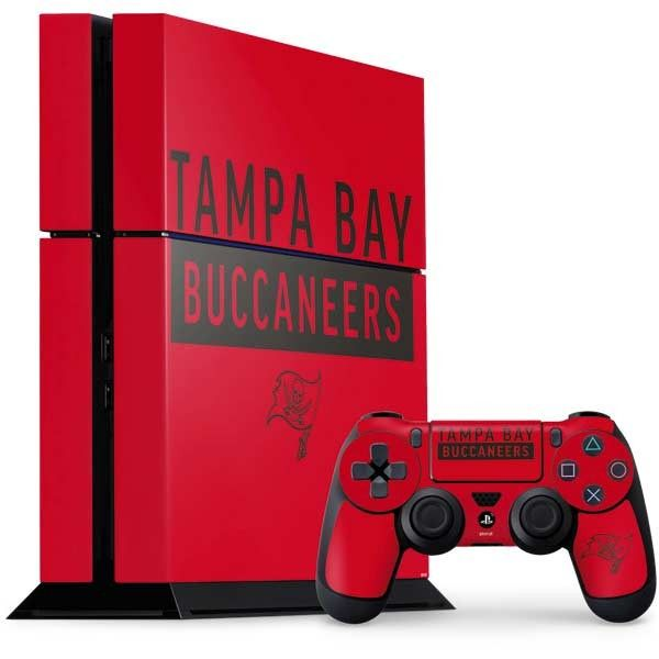 Protect Personalize Your Ps4 Console And Controller Bundle With The Tampa Bay Buccaneers Red Performance Series Ps4 Cons Ps4 Console Ps4 Tampa Bay Buccaneers