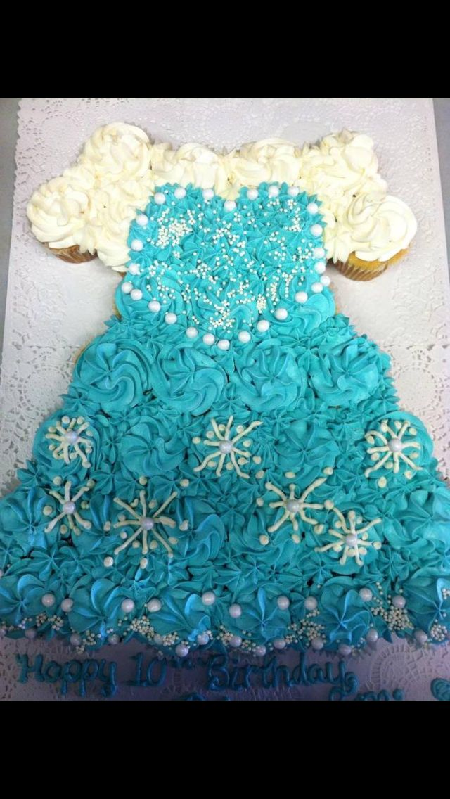 Cupcake cakes elsa and cupcake on pinterest