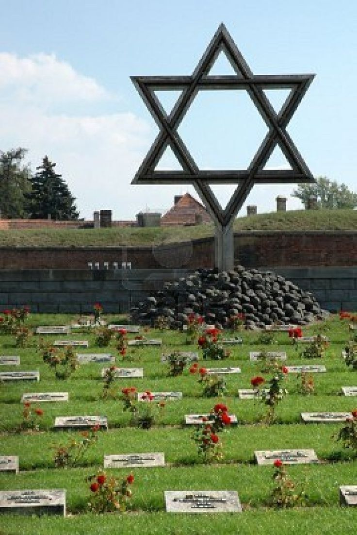 "Burial grounds at Terezín, Czech Republic...location of the ""nice"" concentration camp used for German propaganda"
