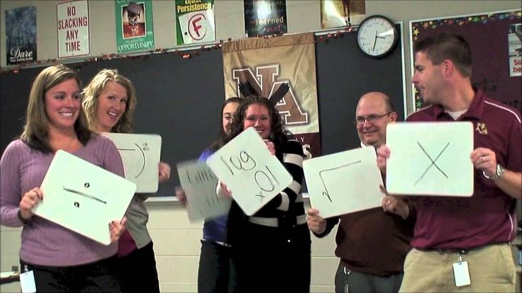Solve Me Maybe (WSHS Math Song). Show this after solving equations with division as something fun for students to watch.