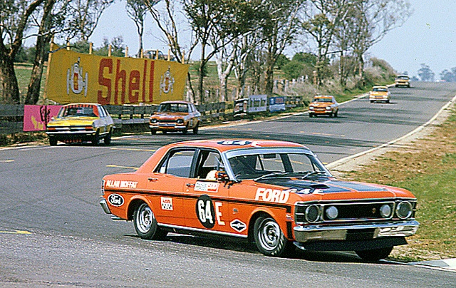 1970 Ford XW Falcon GTHO Phase 2 Wins Bathurst - Allan Moffat by aussiefordadverts, via Flickr