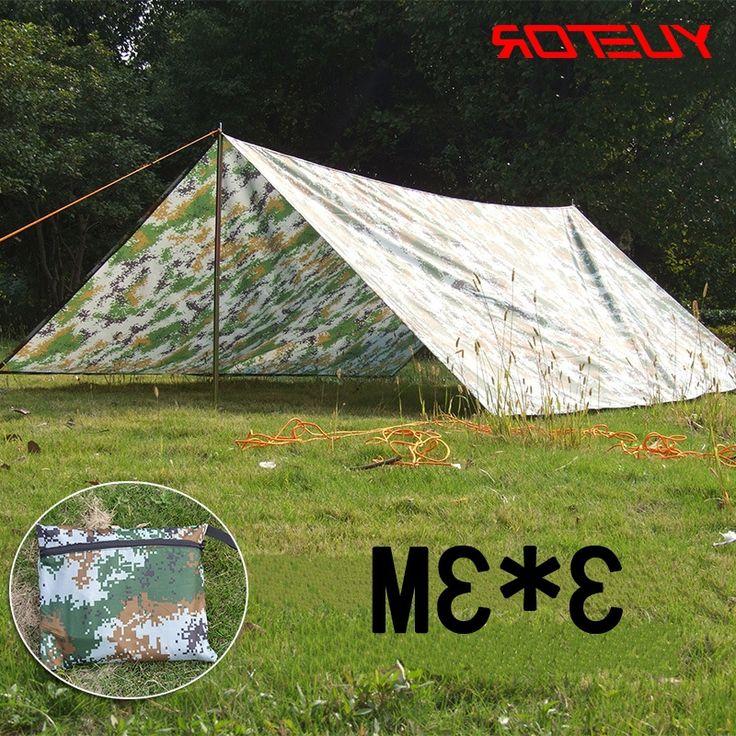 32.67$  Buy here - https://alitems.com/g/1e8d114494b01f4c715516525dc3e8/?i=5&ulp=https%3A%2F%2Fwww.aliexpress.com%2Fitem%2FYUETOR-3-3m-camouflage-oxford-shade-canopy-ultralight-waterproof-tent-mat-for-outdoor-camping-bech-tent%2F32701980365.html - YUETOR 3*3m camouflage oxford shade canopy ultralight waterproof tent mat for outdoor camping bech tent sun shelter 32.67$