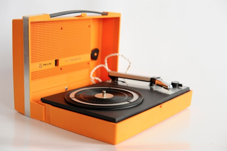 1970s Philips 210 Transistor Portable Record Player I Had