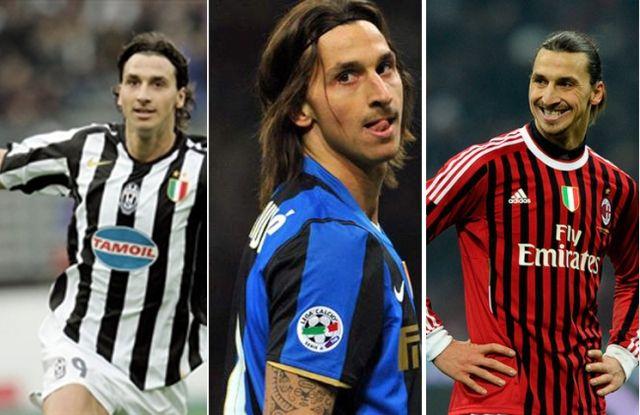 ZI9 , Juventus 2004-2006,  Inter 2006-2009,  Milan 2010  #Zlatan #Ibrahimovic  #Juventus #Inter #Milan