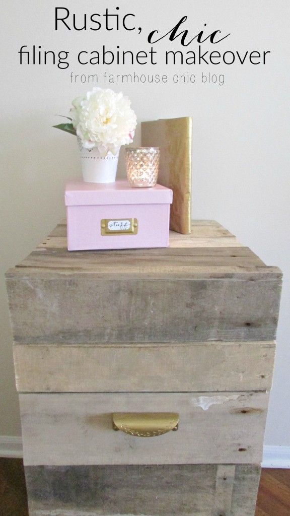 Old Filing Cabinet Makeover Farmhouse Chic Blog Bloggers Best DIY Ideas Pinterest