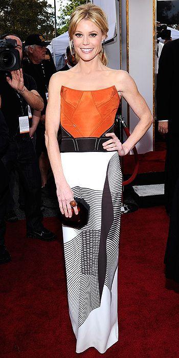 Julie Bowen, in Carolina Herrera, with Carla Amorim jewels - SAG Awards 2014