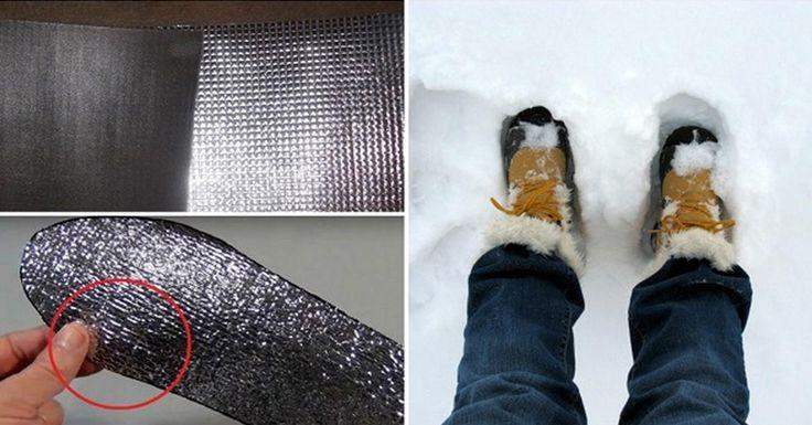 A lábaid nem fognak fázni a téli hidegben, ha így béleled ki a csizmád!