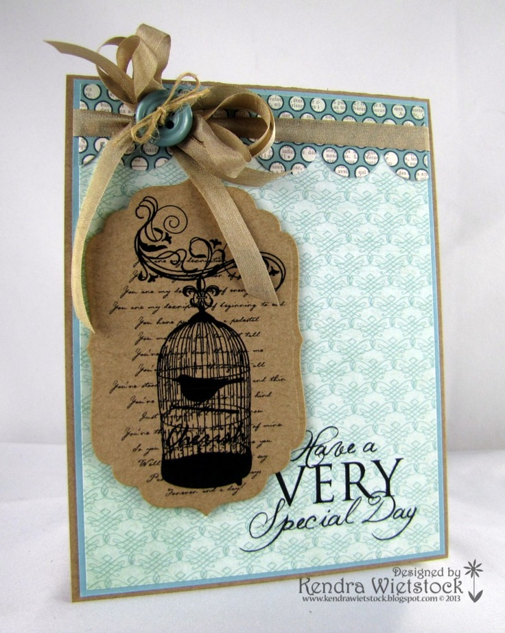 By: Kendra Wietstock; Crafter's Companion (Stamp It Australia Image Collection 2013 CHA Release).  http://kendrawietstock.blogspot.com