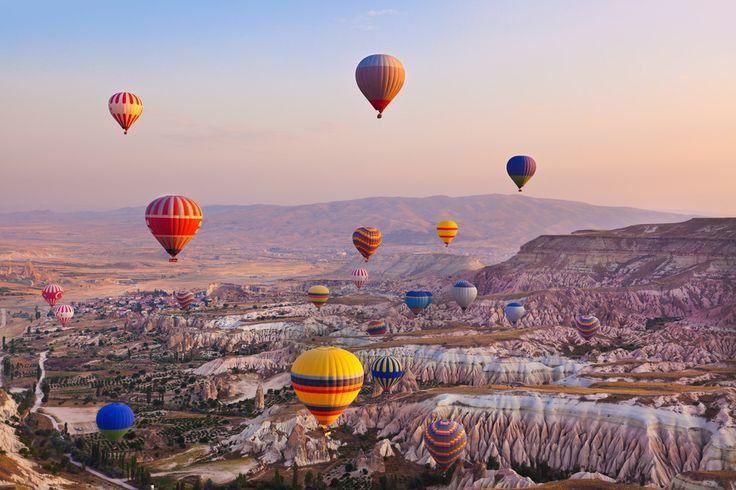 【世界遺産から見る朝日】圧巻!トルコ、カッパドキアで気球から見た朝日が神秘的だった! 15枚目の画像
