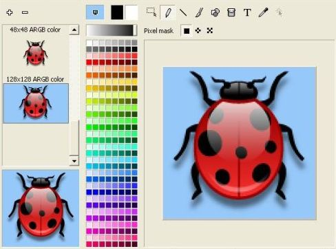 Here are a few examples of what you should look for in an icon editor.