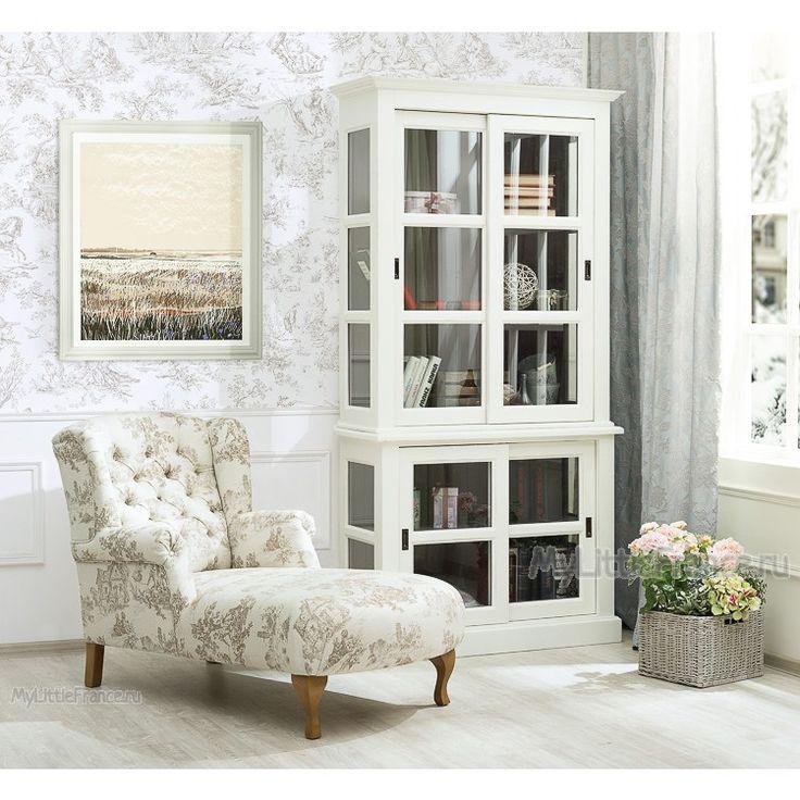Шкаф-витрина Vera - Книжные шкафы, витрины, библиотеки - Гостиная и кабинет - Мебель по комнатам My Little France