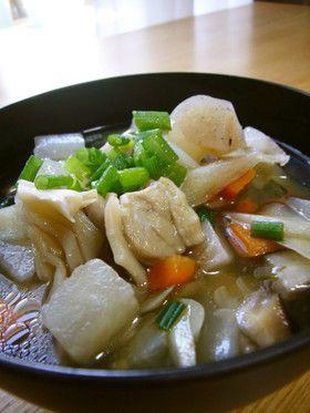 根菜豊富!鶏ダシ美味♡九州熊本♡のっぺ汁