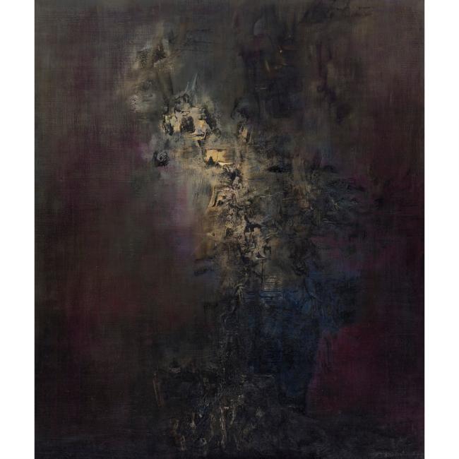 Zao Wou-Ki (Zhao Wuji), Four oils on canvas @ Sotheby's Hong Kong - Eloge de l'Art par Alain Truong