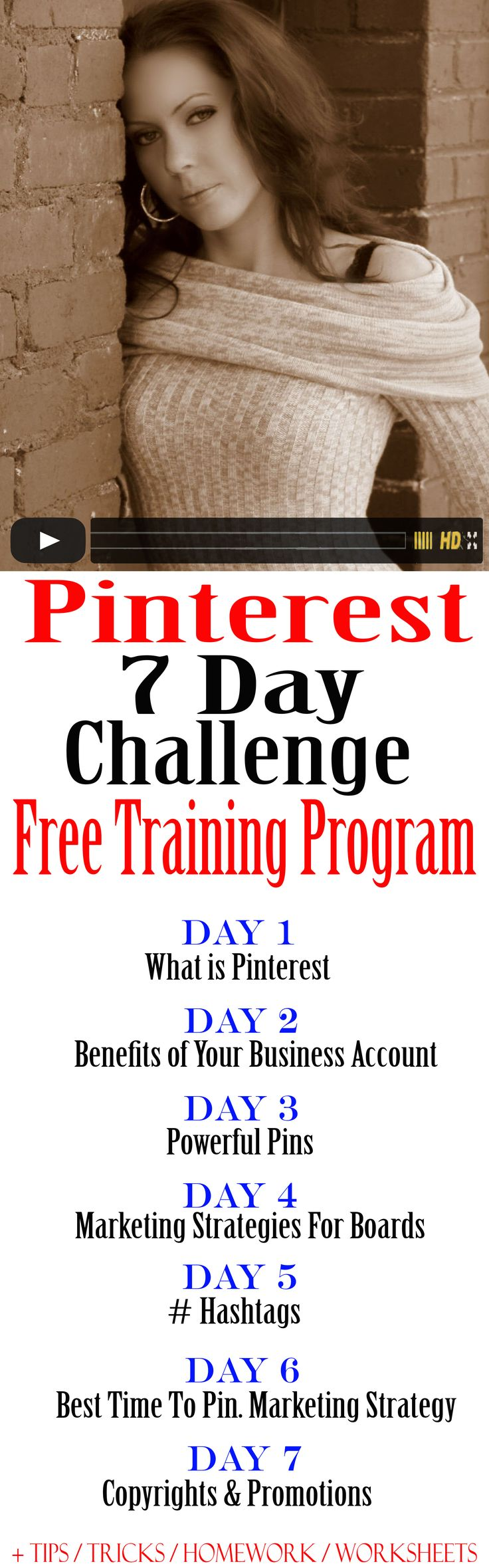 FREE TRAINING PROGRAM You Will Learn: Why you can't afford not to have Pinterest.  How you can make money with it.  How to create powerful pins.  how to attract more clients.  how to increase your sales.  how to avoid the most commonly made mistakes. #pinterest
