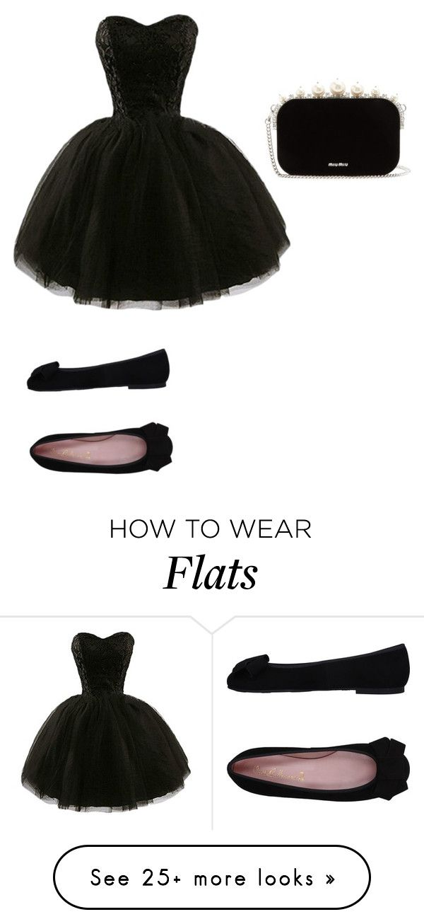 """""""Untitled #314"""" by rebecca01f on Polyvore featuring Pretty Ballerinas and Miu Miu"""