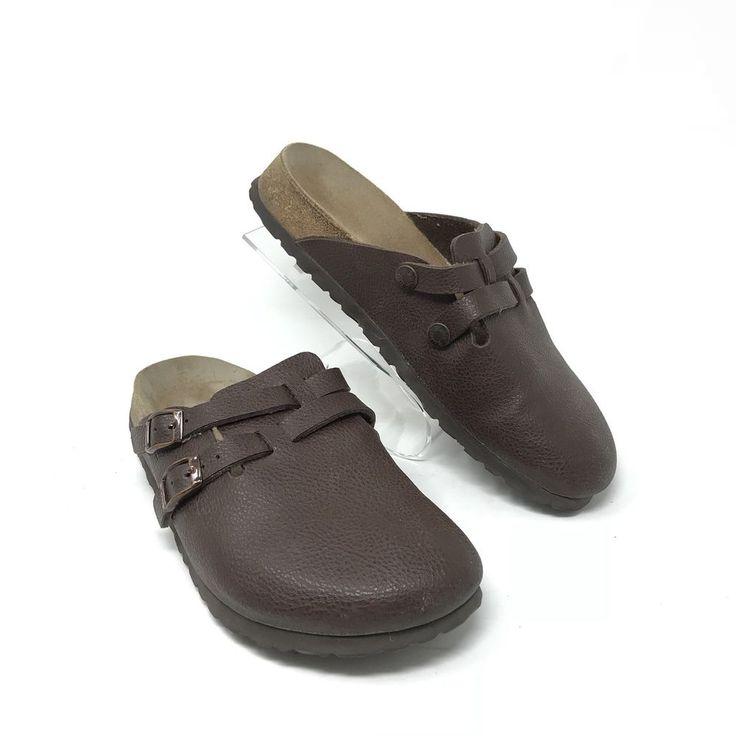 Birkenstock Birki's 38 7 - 7.5 Women's Brown Clogs Shoes Mules 245 L7 M5