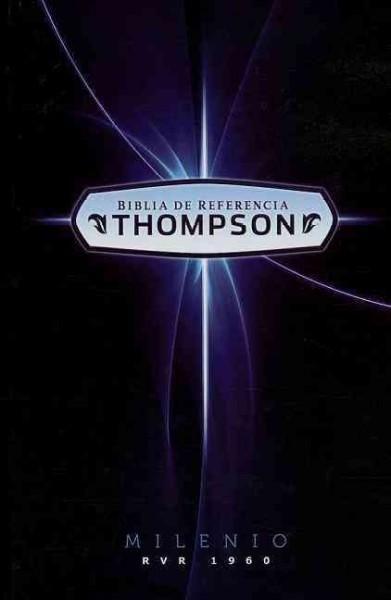 Holy Bible: RVR 1960 Biblia De Referencia Thompson Milenio