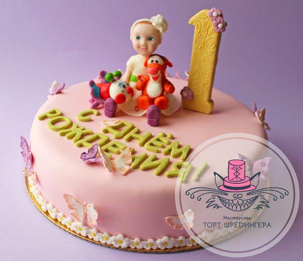 Торт на 1 годик #тортшрёдингера #торт #cake