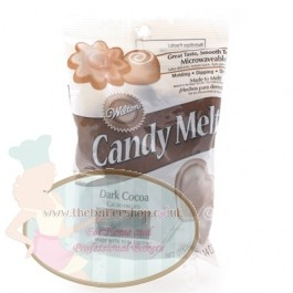 Dark Cocoa Wilton Candy Melts - Perfect for Cake Pops, Sweet Making #Baking