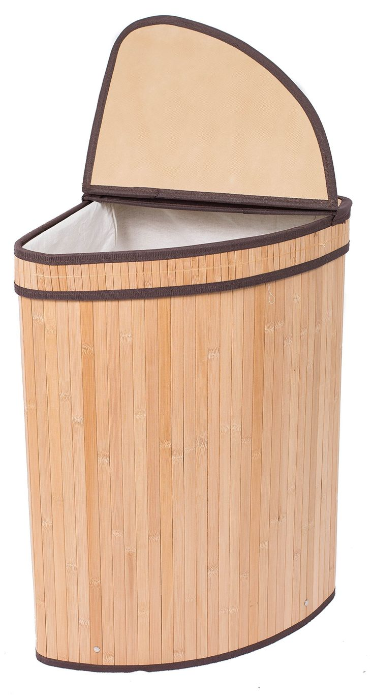 Best 25 corner laundry basket ideas on pinterest - Corner hamper with lid ...