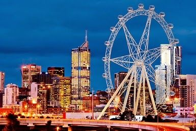 Melbourne Star Observation Wheel #ThingsToDoInMelbourne #Melbourne #Australia #HolidayAustralia