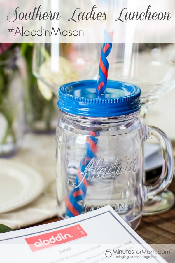 A Southern Ladies Luncheon with #AladdinMason #Entertaining
