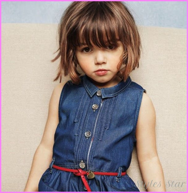 awesome Little girls short haircuts with bangs