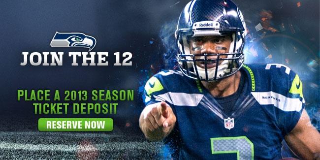 Become a Seattle Seahawks season ticket holder!!
