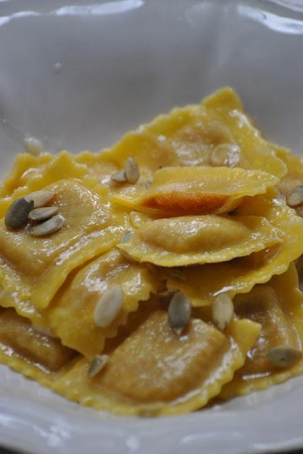 Tortelli di zucca e amaretti
