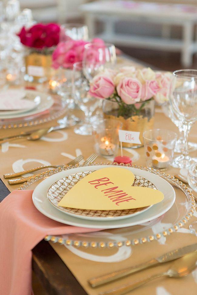 Valentine's Day styled wedding I Gillian Ellis Photography