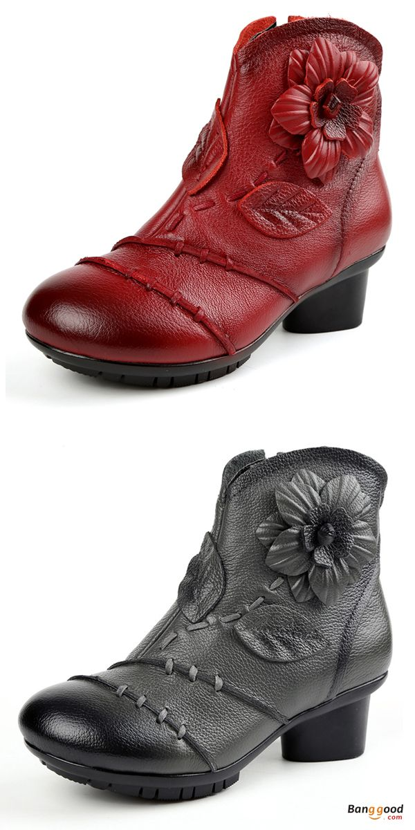 7617981ce535 US$53.96 + Free shipping. Size: 5~11. Color: Gray, Red. Women's Shoes, Women's  Boots.
