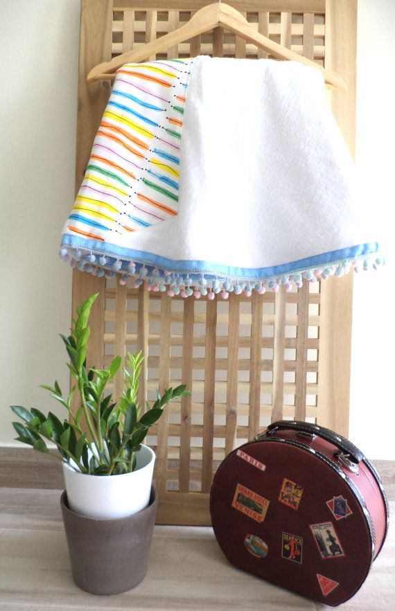 The pom pom_play round towel by #aloha_beaches #beachtowel#stylishtowel#roundtowel#roundie#pompom_play#beachlife#beachtowel