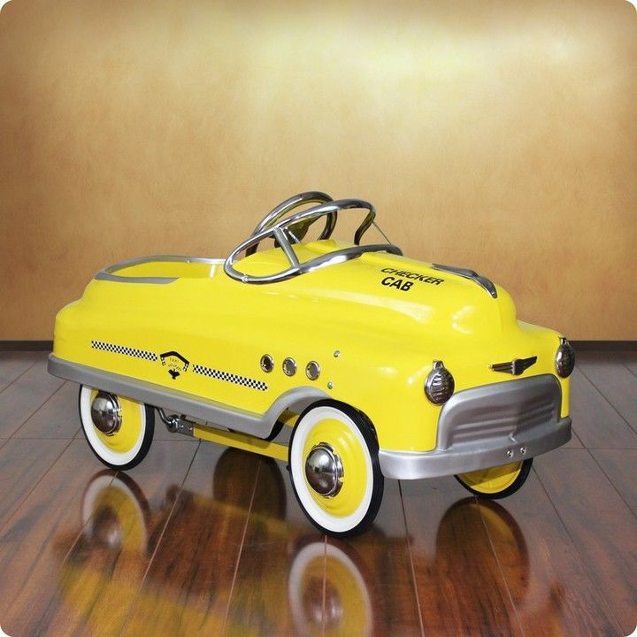 dexton taxi comet sedan pedal car for kids currently on backorder until summer of 2017