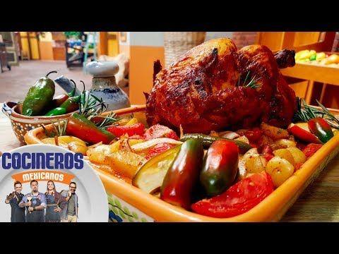 Receta: Pollo a la cerveza | Cocineros Mexicanos - YouTube