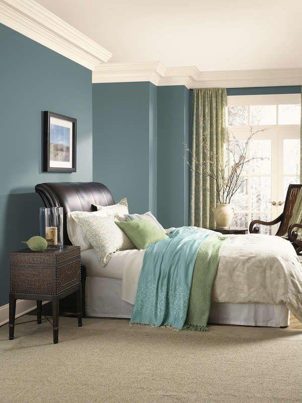13 Reasons We Love Blue Bedrooms Blue Bedroom Paint Bedroom