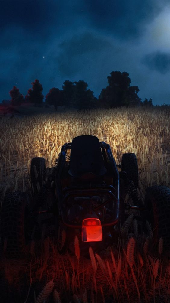 Night Mode Buggy Pubg Mobile Hd Wallpapers Pubg Pubgwallpapers