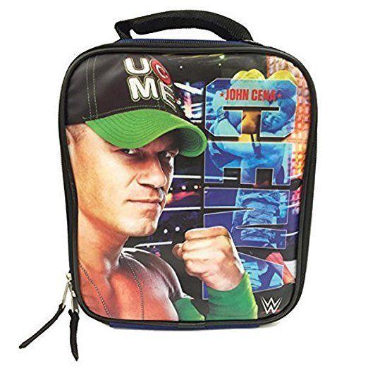 "Partytoyz Inc. - WWE John Cena Lunch Box Lunch Bag - ""Never Give Up"", $12.99 (http://www.partytoyz.com/wwe-john-cena-lunch-box-lunch-bag-never-give-up/)"