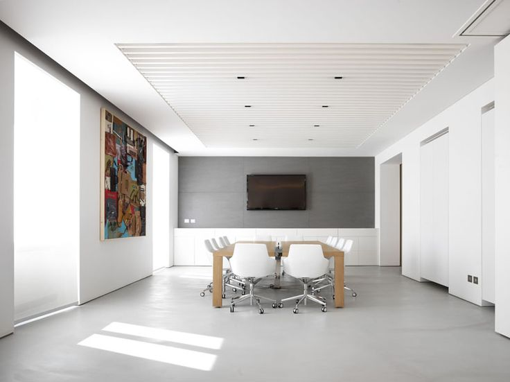 Piquadro headquarter - Lea Ceramiche Slimtech basaltina stone project collection laminated porcelain are suitable for both indoor flooring and wall-cladding as well as public and high traffic areas.