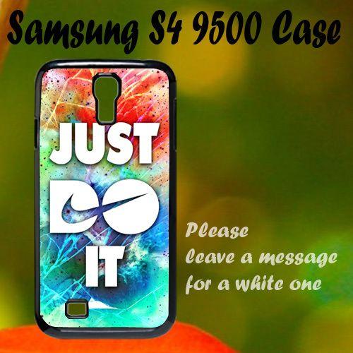 Nike Cracked Out Galaxy Nebula Samsung S4 i9500 Case, Plastic Case, Best Case