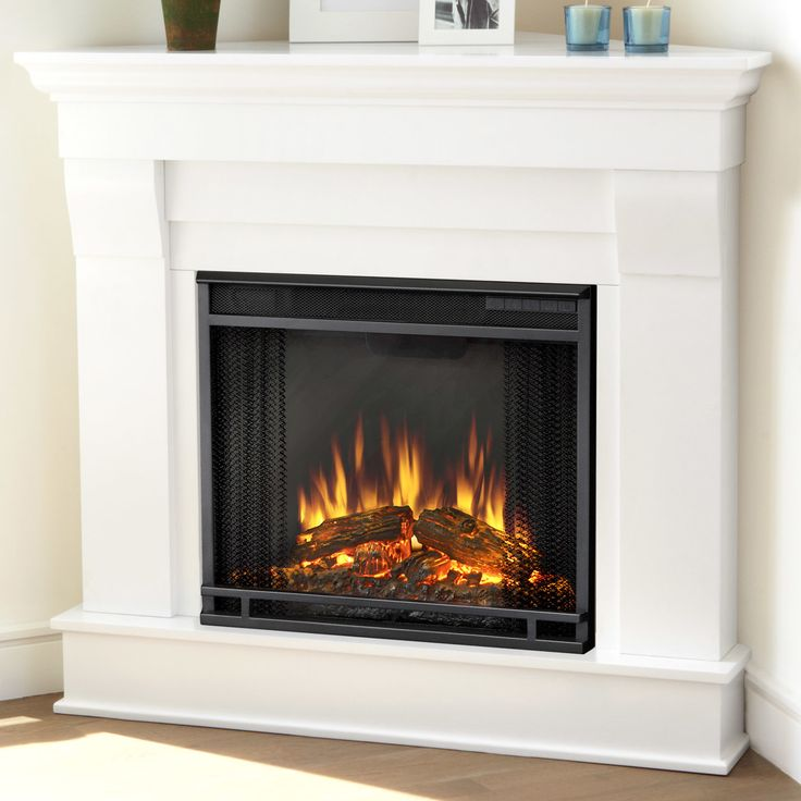 17 best ideas about corner electric fireplace on pinterest white electric fireplace fake - Choosing the right white electric fireplace for you ...